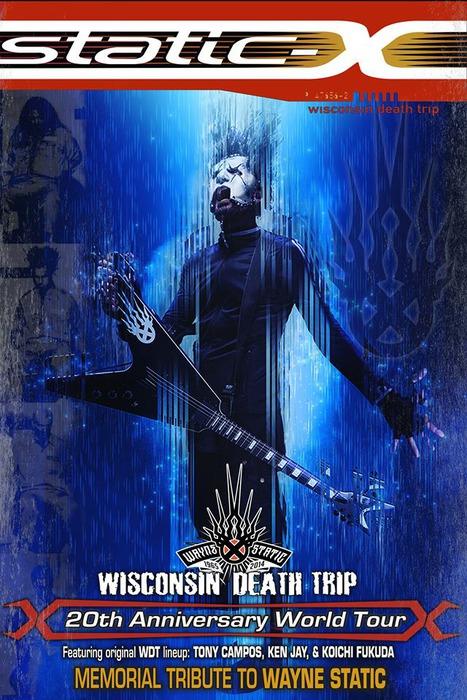 Static X о маске вокалиста новости Darksideru