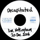 Live Nottingham 20 Dec 2004
