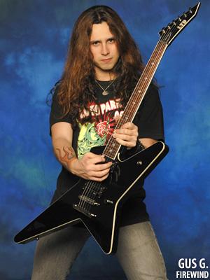 Греческий гитарист Gus G. (OZZY OSBOURNE, FIREWIND, DREAM EVIL, ARCH...