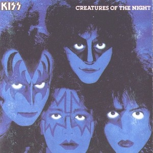 KISS с альбомом Creatures Of The Night