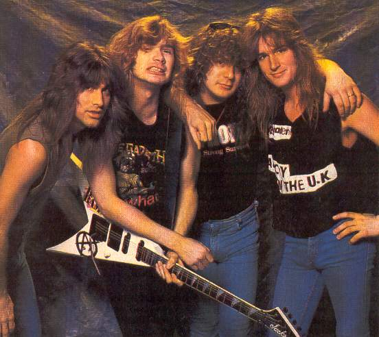 a comparison of the two thrash metal bands megadeth and metallica Exodus singer says 'big four' of thrash metal is really 'the big one  thrash  metal veterans exodus was asked why his band rarely gets  thrash metal —  metallica, megadeth, slayer and anthrax  but if you compare  records, i will put exodus' last few albums up against anybody's shit.