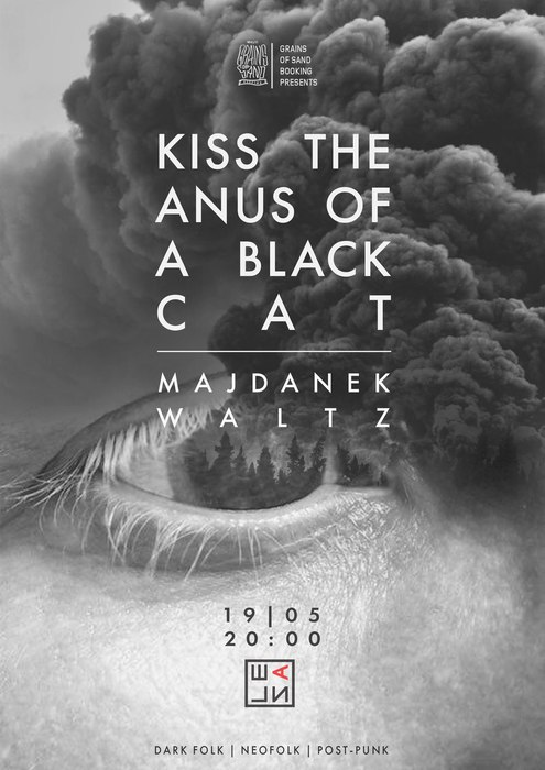 Kiss The Anus Of A Black Cat