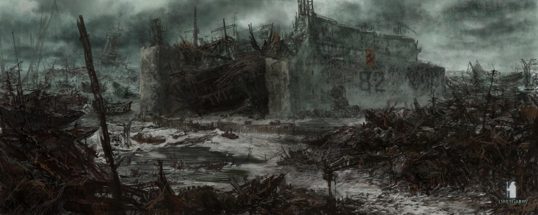Fallout (rus mod ) Land art 2
